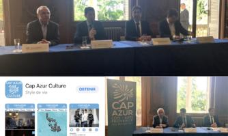 Lancement de l'application « Culture » du Pôle Métropolitain « CAP AZUR ».