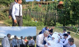 Cannes agricole, d'une vision à la réalité : séance de travail in situ pour pérenniser la sanctuarisation de la basse vallée de la siagne