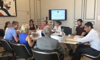 Réunion de travail sur le Plan local d'urbanisme du quartier République