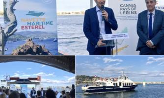 2e saison pour la navette maritime Estérel : un moyen de transport alternatif et ludique