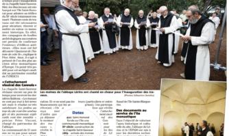 île Saint-Honorat : coup de frais pour la chapelle Saint-Sauveur