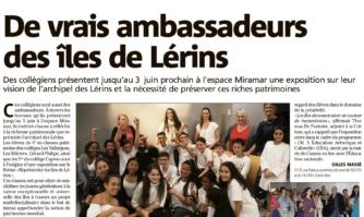 Cannes : de vrais ambassadeurs des îles de Lérins