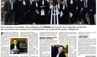 Les collégiens de Cannes découvrent la Justice et se prennent au jeu