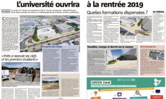 L'université de Cannes ouvrira à la rentrée 2019