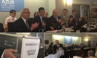 """David Lisnard élu à l'unanimité président du pôle métropolitain """"Cap Azur"""""""
