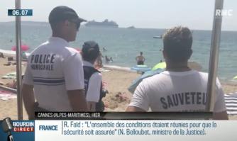 Incivilités, cigarettes, prévention: à Cannes, une brigade des plages patrouille