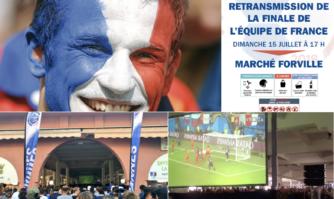La Ville de Cannes retransmettra sur écran géant la finale de la coupe du Monde dimanche 15 juillet