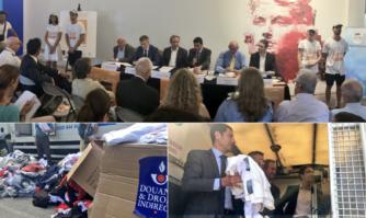 Cannes a été choisie pour le lancement de la campagne nationale de lutte anti-contrefaçons de l'UNIFAB