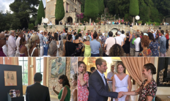 Vernissage del'exposition de l'été à la VillaDomergue, haut lieu departage de la culture