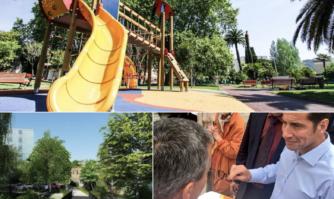 Une politique proactive de rénovation et de sanctuarisation des jardins publics et aires de jeux pour une ville toujours plus humaine