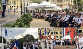 Cérémonies du 14 juillet pour célébrer la Fête Nationale