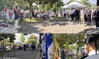 Hommage de David Lisnard aux victimes juives de la rafle du Vel' d'Hiv' à Paris en 1942
