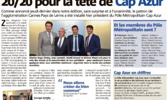 David Lisnard décroche le 20/20 pour la tête de Cap Azur