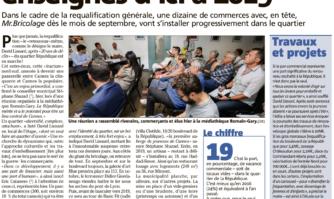 Dix nouvelles enseignes attendues dans le quartier République d'ici à 2019 à Cannes