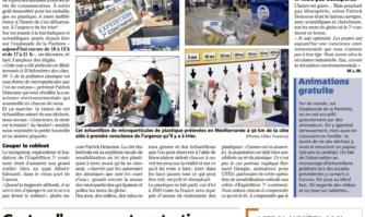 """À Cannes, l'Expédition 7e continent alerte sur """"l'urgence de trier"""" nos plastiques en Méditerranée"""