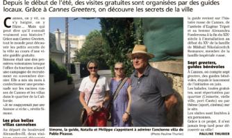 Cannes : des locaux pour vous guider au coeur de la ville