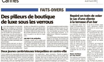 Sécurité à Cannes : zoom sur l'efficacité de la Police municipale et de la vidéoprotection