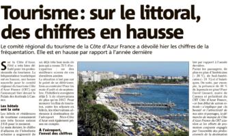 Tourisme: sur le littoral, des chiffres en hausse