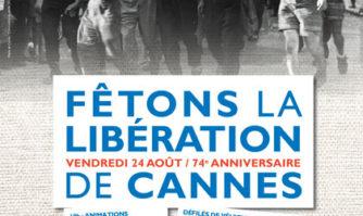 Célébrons ensemble le 74e anniversaire de la Libération de Cannes