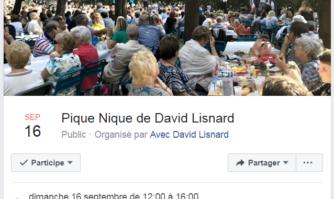 Rentrée politique de David Lisnard : grand pique-nique champêtre et convivial le dimanche 16 septembre, Butte Saint-Cassien