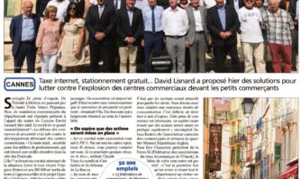 Les commerçants du département à l'unisson : les solutions de David Lisnard pour que les petits commerces résistent face aux centres commerciaux géants.