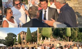 Cérémonie d'accueil des nouveaux résidents Cannois à la Villa Domergue