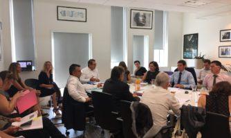 Conseil des Maires : séance de travail intercommunale de l'agglomération Cannes Lérins