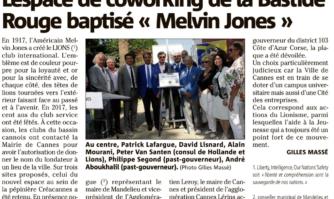 L'espace de coworking de la Bastide Rouge baptisé Melvin Jones
