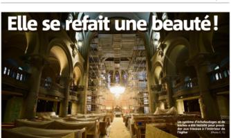 L'Église Notre-Dame de Bon Voyage se refait une beauté