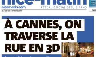 À Cannes, on traverse la rue en 3D