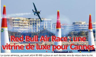 Red Bull Air Race : une vitrine de luxe pour Cannes