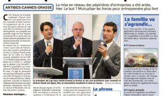 Cap Azur la joue puissance quatre pour les entreprises