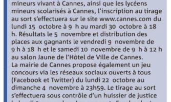 NRJ Music Awards : la Mairie de Cannes offre des places aux Cannois
