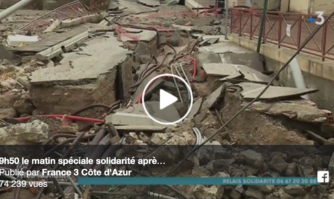 Inondations dans l'Aude : les sapeurs-pompiers du Var, la protection civile 06 et la ville de Cannes en soutien