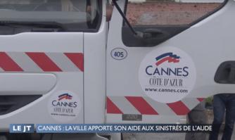 Cannes : La ville apporte son aide aux sinistrés de l'Aude