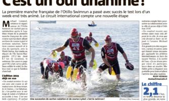 Swim Run de Cannes : c'est un oui unanime