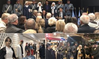 Inauguration d'un musée éphémère à l'occasion du Centenaire de l'Armistice de la Première Guerre mondiale