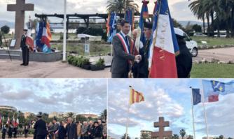 Cérémonie d'hommage pour le 48e anniversaire de la mort  du Général de Gaulle