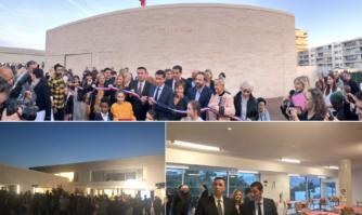 Inauguration de l'école communale Jacqueline de Romilly : pour construire l'avenir des jeunes cannois
