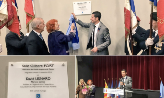 """Dénomination de la salle """"Gilbert Fort"""" à République"""