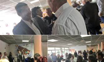 David Lisnard a rencontré les Taxis à l'occasion de leur déjeuner annuel