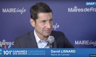 Interview de David Lisnard au micro d'AMF TV