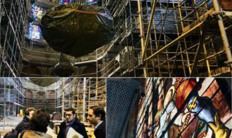 Plan Églises : visite des travaux de l'Église Notre-Dame de Bon Voyage