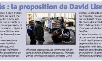Incivilités : la proposition de David Lisnard