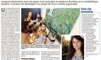 Léna Mazilu, une artiste invitée de la Villa Rothschild