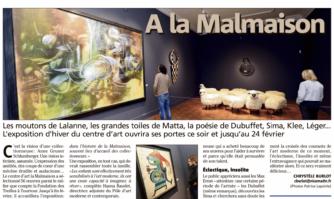 Exposition à la Malmaison