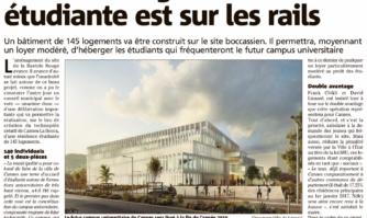 Bastide-Rouge : la résidence étudiante est sur les rails
