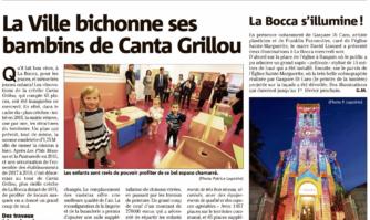 La Ville bichonne ses bambins de Canta Grilou