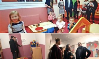 Inauguration de la crèche Canta Grilou au coeur de La Bocca