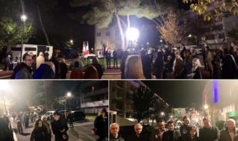 Inauguration de la réhabilitation de la résidence Les Mûriers Sud à La Bocca